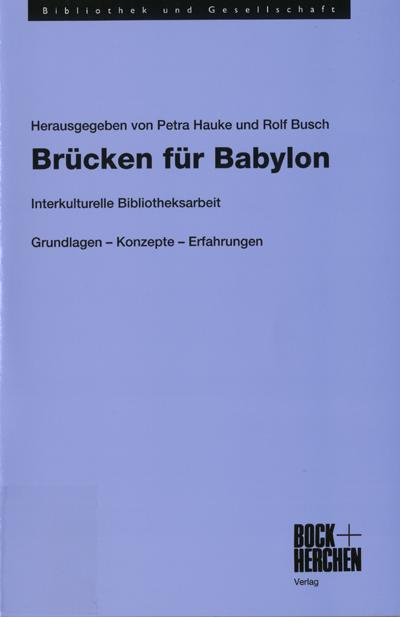 cover bruecken fuer babylon